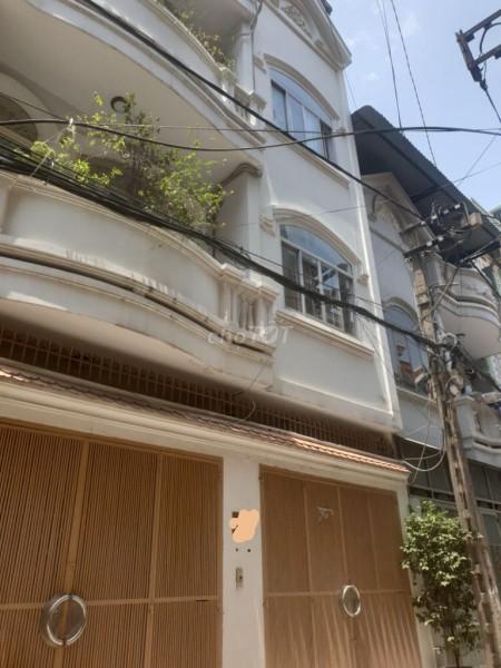 Cho thuê căn nhà hẻm ô tô đường Hậu Giang, Phường 4, Tân Bình, Diện tích 3.5m x 11m, 38m2, 4 phòng ngủ, 3 toilet