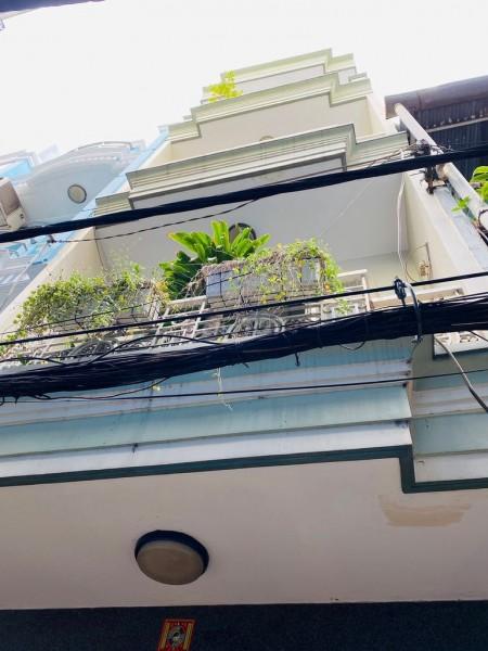 Cho thuê căn nhà 100m2, có 2 lầu và 1 sân thượng tại Đoàn Văn Bơ, Quận 4 chỉ với 9tr5/tháng., 100m2, 2 phòng ngủ, 3 toilet