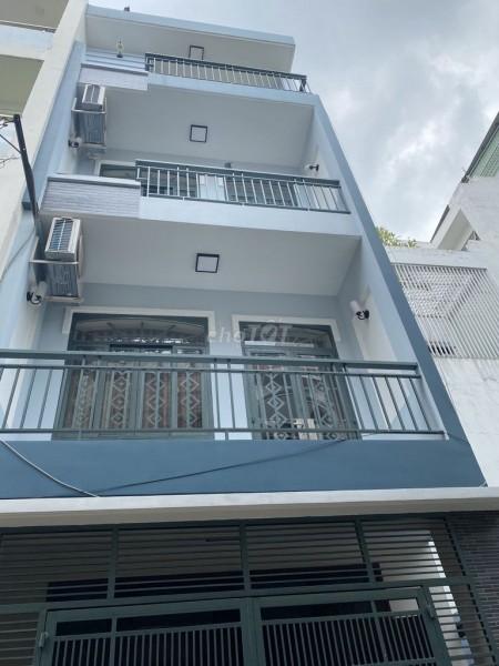 Cho thuê nhà nguyên căn mới tinh hẻm xe hơi đường Hậu Giang, Quận Tân Bình, 81m2, 4 phòng ngủ, 5 toilet