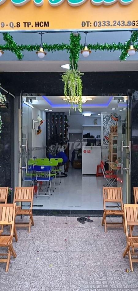 Nhà mặt tiền đường Hưng Phú, Quận 8 cần cho thuê giá 18 triệu/tháng, dtsd 27m2, LHCC, 27m2, ,