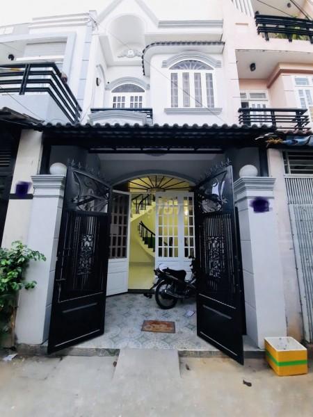 Hẻm an ninh Phan Huy Ích, Gò Vấp cần cho thuê nhà rộng 40m2, giá 8 triệu/tháng, 40m2, ,