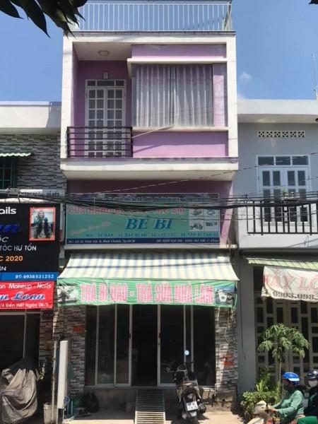 Nhà nguyên căn Võ Văn Vân, Bình Chánh cần cho thuê giá 6.5 triệu/tháng, dtsd 37.2m2, 2 tầng, 37.2m2, ,
