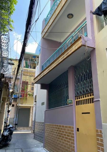 Cho thuê nhà rộng 40m2, 3 tầng, sân thượng, giá 10 triệu/tháng, hẻm ba gác, Bình Thạnh, lh 0785125391, 40m2, ,