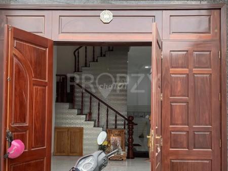Mặt tiền đường 119, Phú Hữu, Quận 9 cần cho thuê nhà rộng 3 tầng, dtsd 60m2, giá 8.5 triệu/tháng, 90m2, ,
