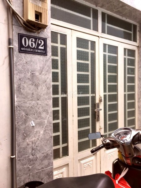 Có nhà 6/2 Nguyễn Thị Xiếu, Quận 7 cần cho thuê giá 6 triệu/tháng, dtsd 48m2, LHCC, 48m2, ,